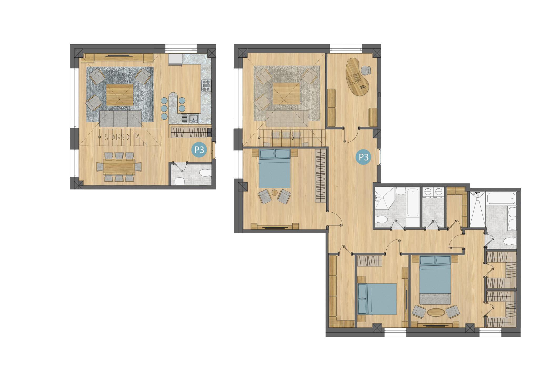 Duplex P3
